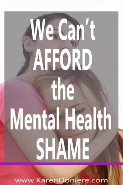 Thursday Thoughts: We Can't Afford the Mental Health Shame