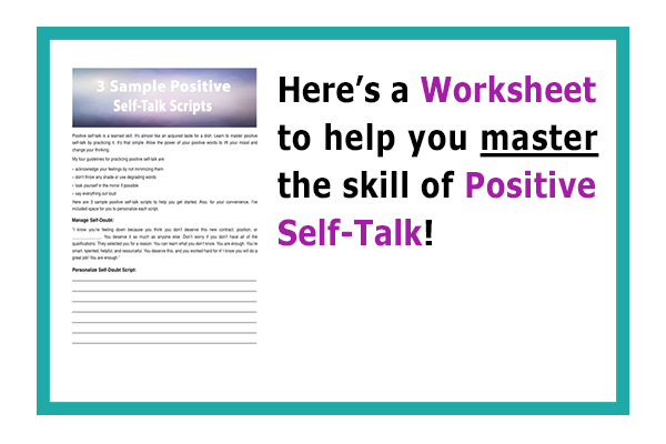 Are positive self talk for teens
