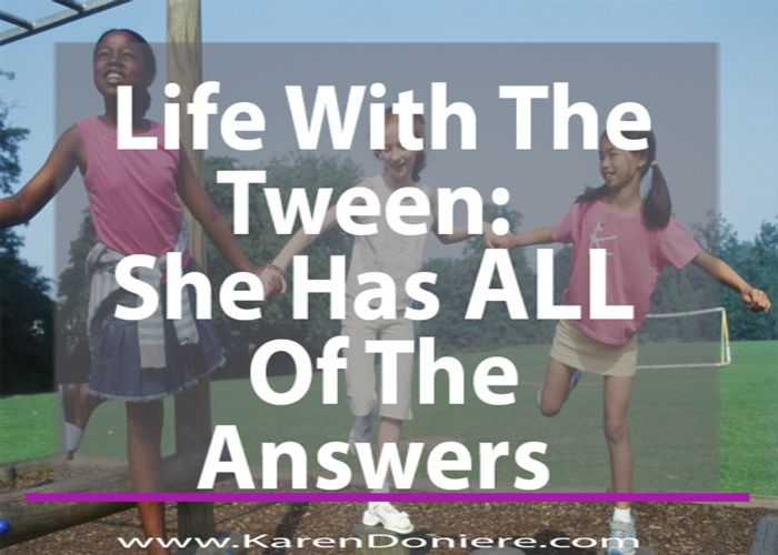 https://karendoniere.com/tweenanswers/ ‎