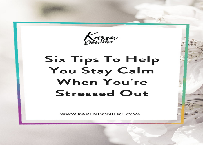 stay calm, remain calm, stressed out, calm under pressure